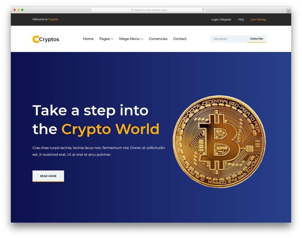 modèle gratuit de cryptos