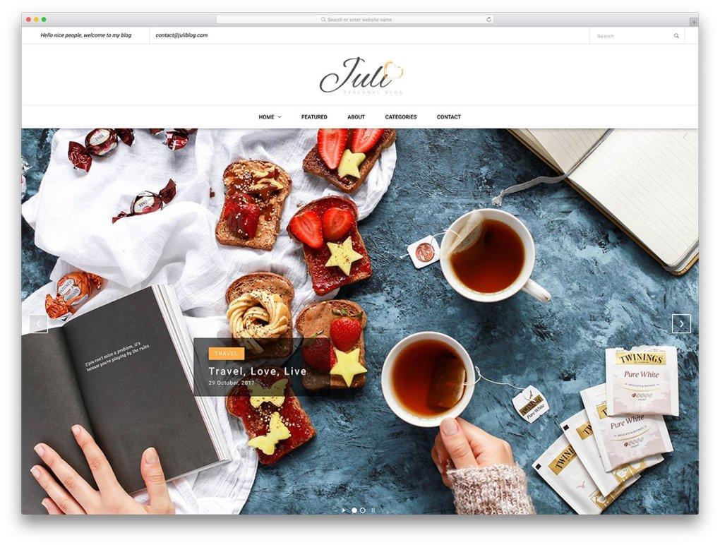 juli-free-seo-friendly-website-templates