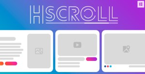 Horizontal Scroll   Elementor
