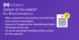 Medical Prescription Attachment Plugin for WooCommerce