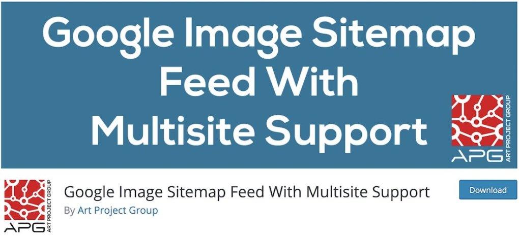 google image sitemap feed avec support multisite plugin wordpress gratuit