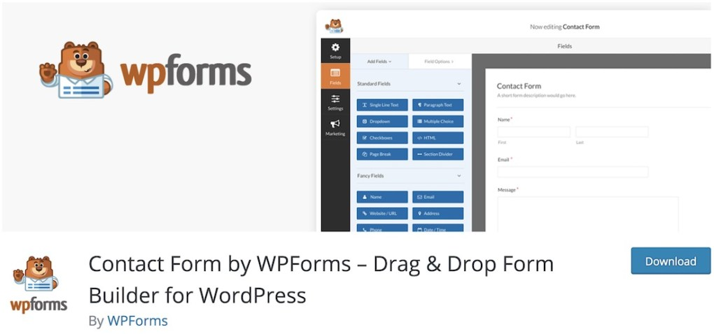 plugin wpforms lite wordpress