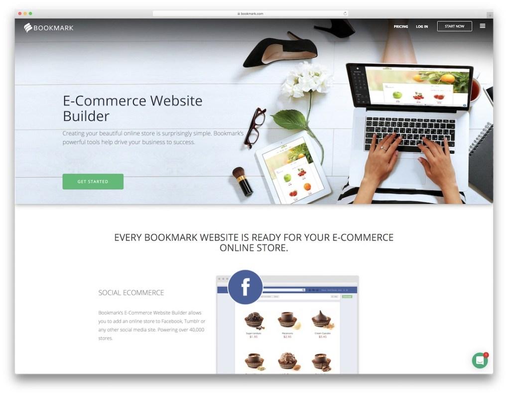 Générateur de sites Web de commerce électronique à bas prix