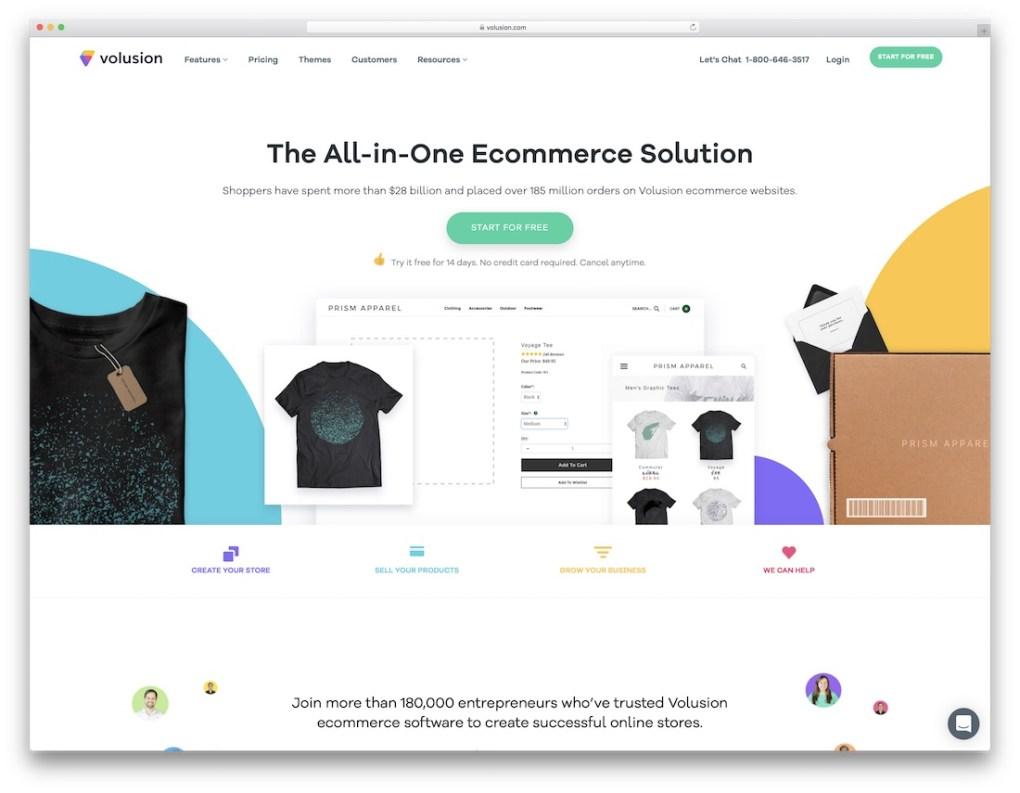 constructeur de site e-commerce pas cher volusion