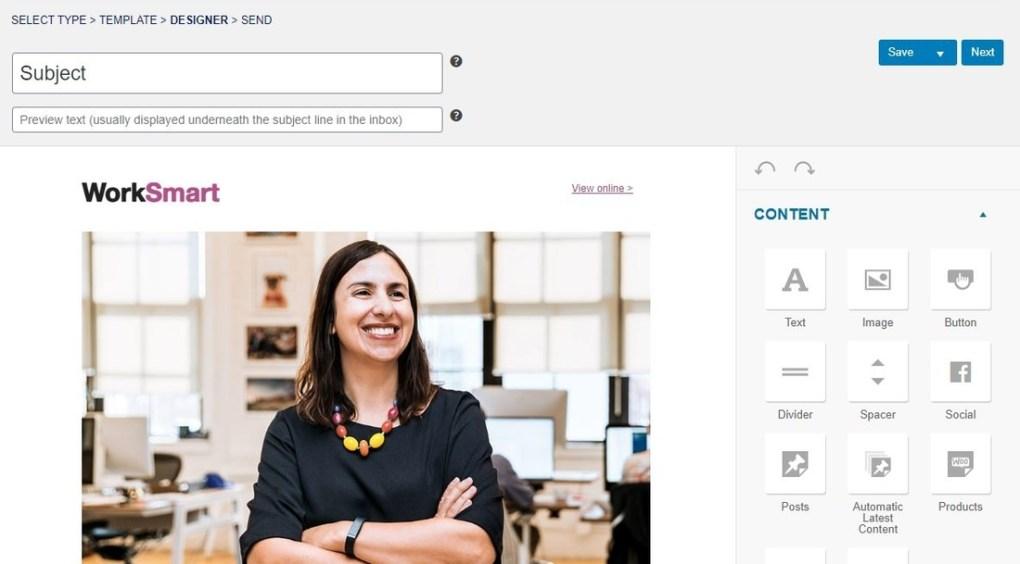 MailPoet - emails et newsletters dans la page de configuration de WordPress