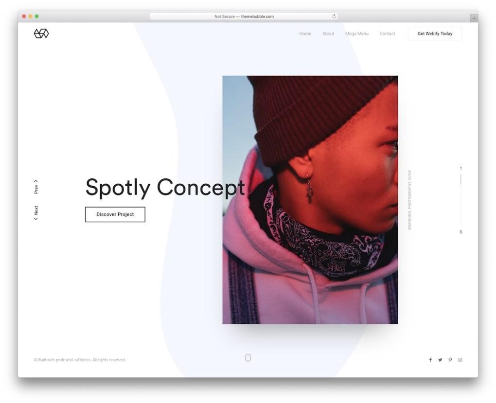 thème Wordify WordPress pour les artistes