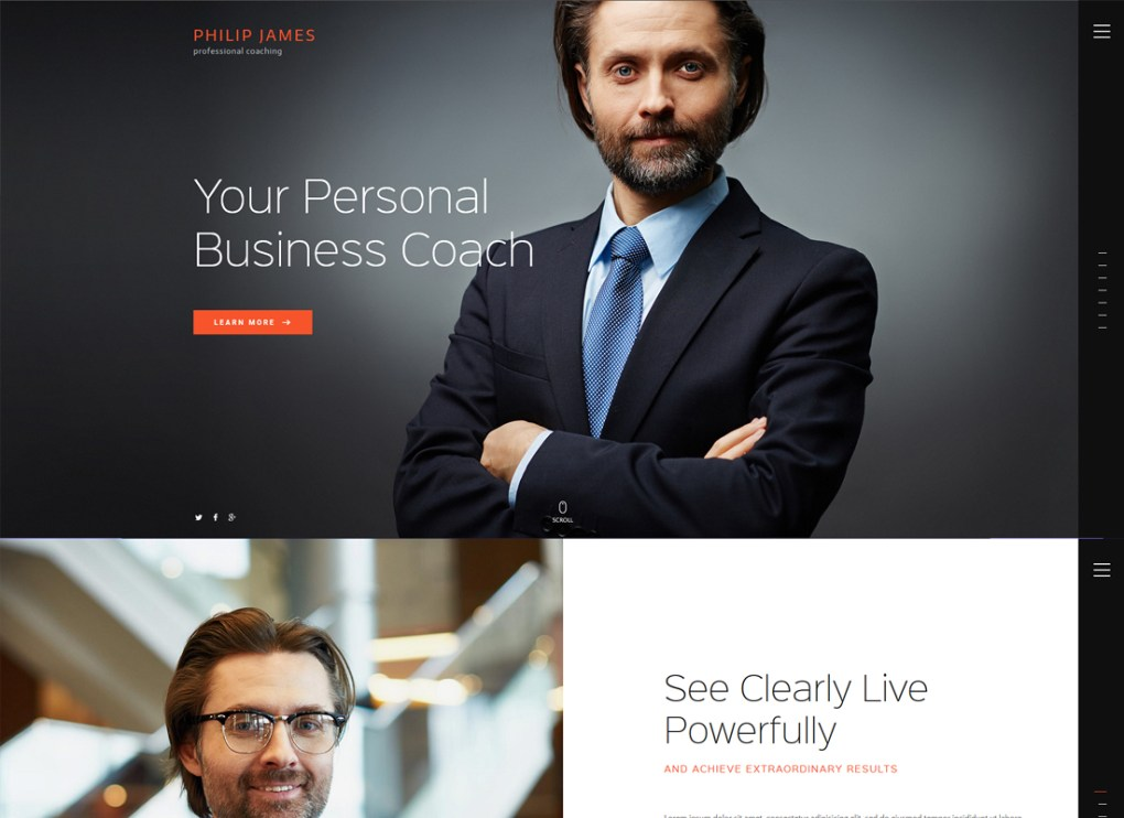 PJ | Thème WordPress pour le coaching et la vie professionnelle