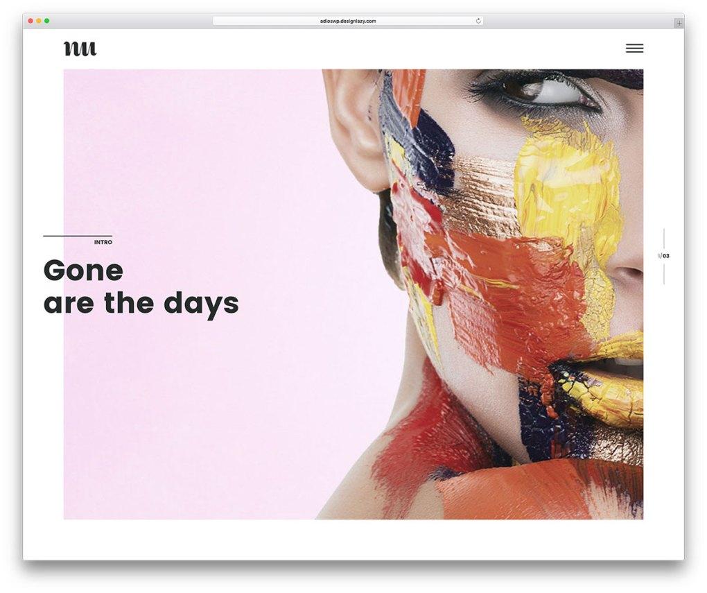 adios-simple-artiste-portfolio-wordpress-theme