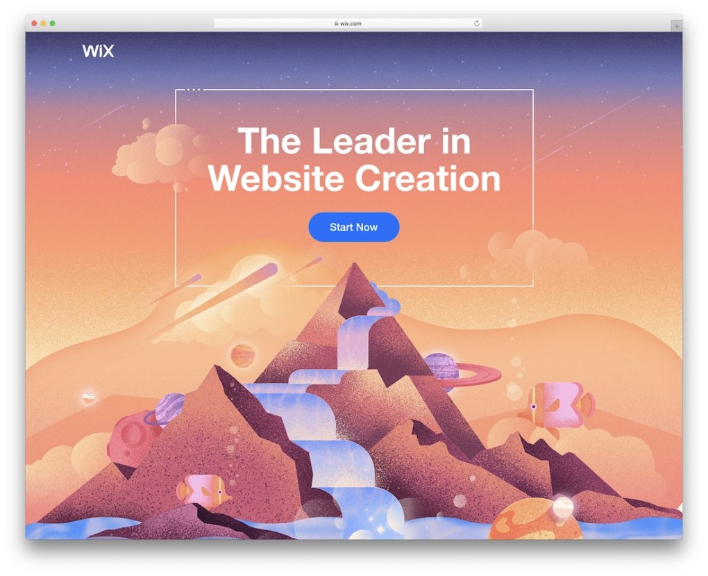 site web du portfolio wix build