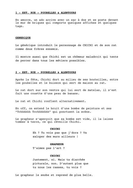 Mise En Page D'un Scénario : scénario, Présenter, Projet, Script, Services,, Scriptdoctors, Scénarios, Montages