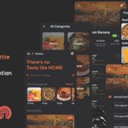 HomeChef - Multi Restaurant Food Delivery App   Ionic - Script Advisors