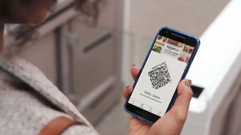 Amazon Go escaner
