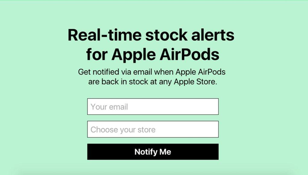 isinstock-airpods