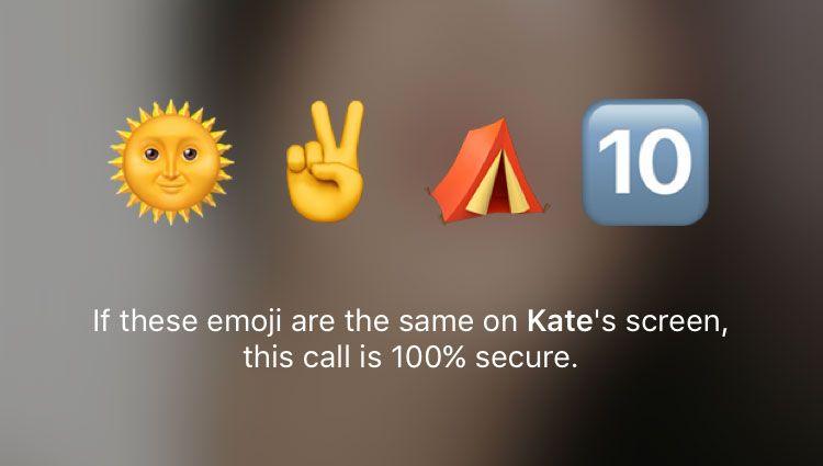 Verificación de llamada segura en Telegram