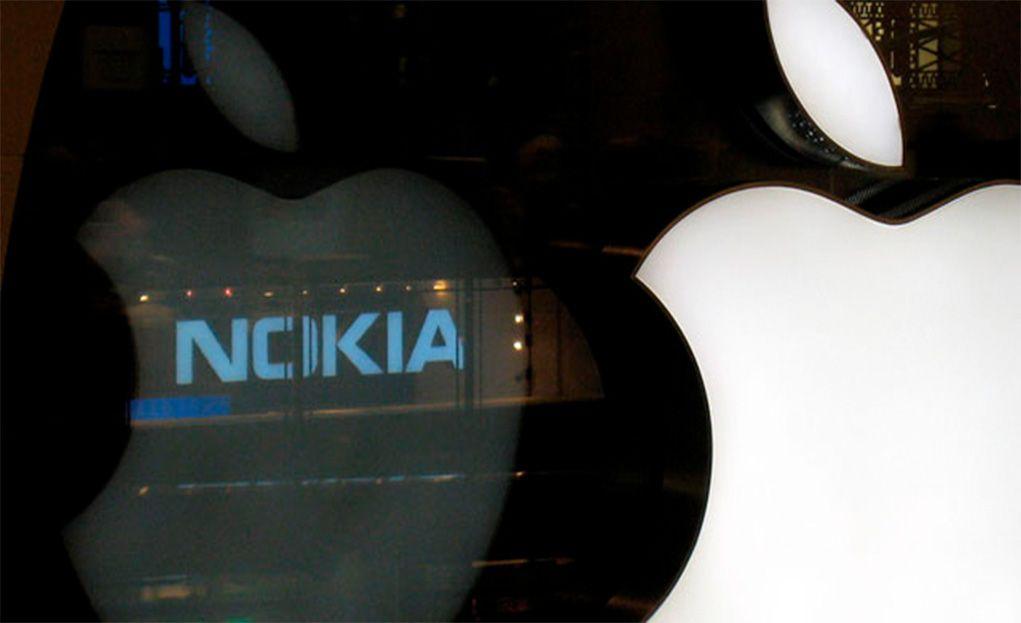 Apple y Nokia
