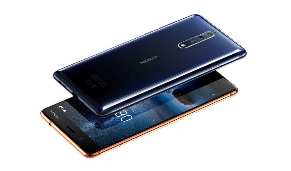 Nokia 8 Carcasa