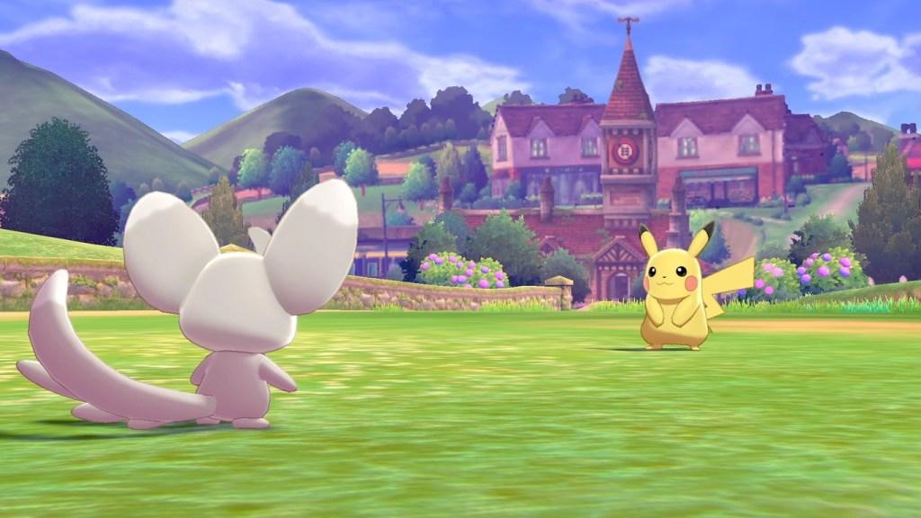 Pokémon Escudo y Espada Pikachu