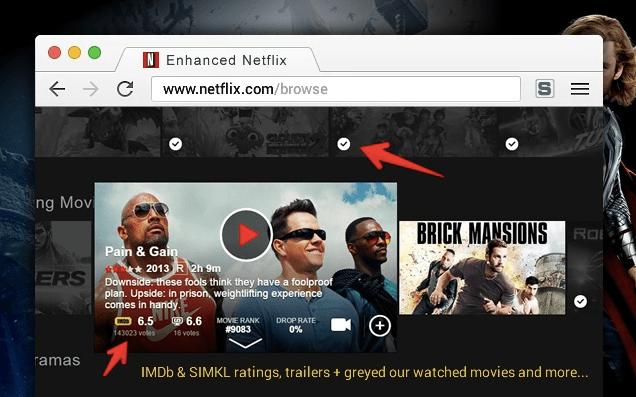 Enhancer for Netflix