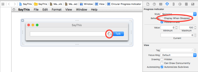 Add a Circular Indeterminate Progress Indicator