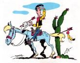 Morris (Maurice de Bévêre, 1923-2001). Lucky Luke.