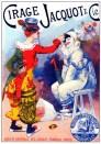 Publicidad francesa: Cirage Jacquot & cie. De Jules  Chéret (1836-1932).