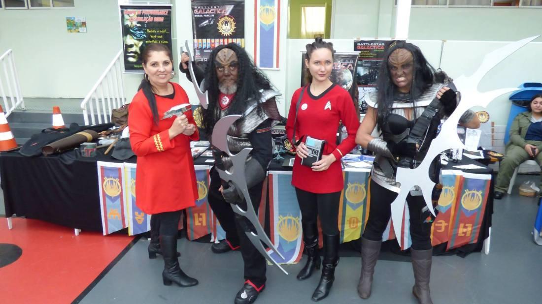 Star Trrek e Assimilação Borg - Foto dos Organizadores