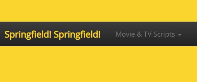Springfield! Springfield! Logo