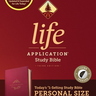 NIV Life Application Study Bible Indexed Personal Berry