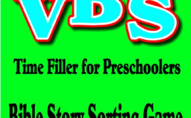 Bible Story Sorting Game Vacation Bible School Ideas For
