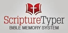 Scripture Typer Bible Memory Verses