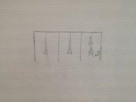 Quale bambino disegna una forca?