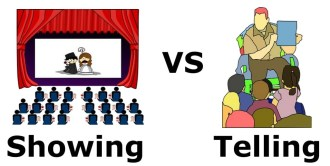 showing and telling: differences