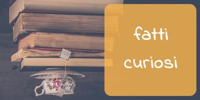 pagina dedicata ai fatti curiosi, ovvero curiosità letterarie di vario genere che riguarda la vita e le opere di scrittori e scrittrici, poeti e poetesse