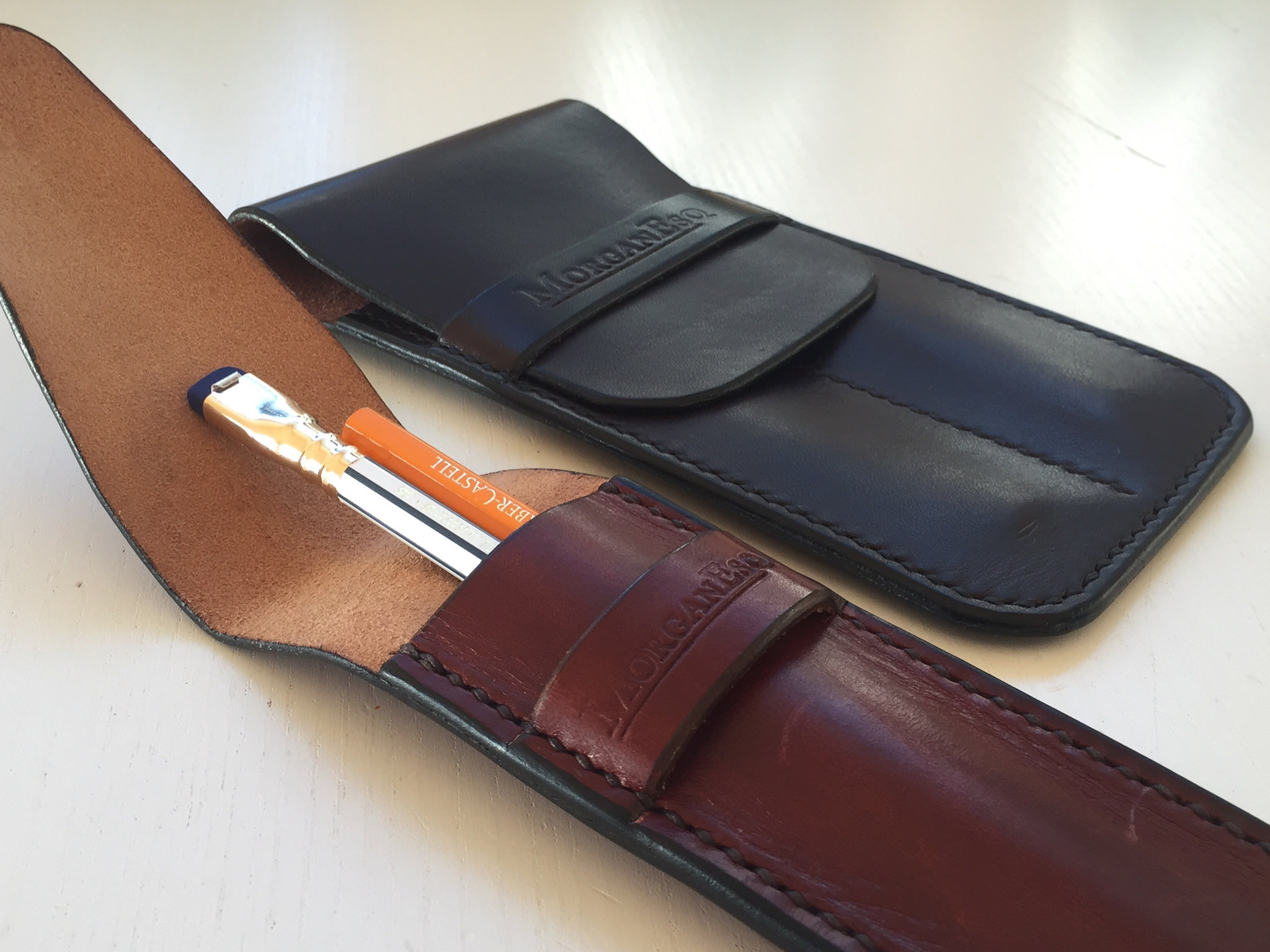 Morgan Esq. Pen & Pencil Pouch