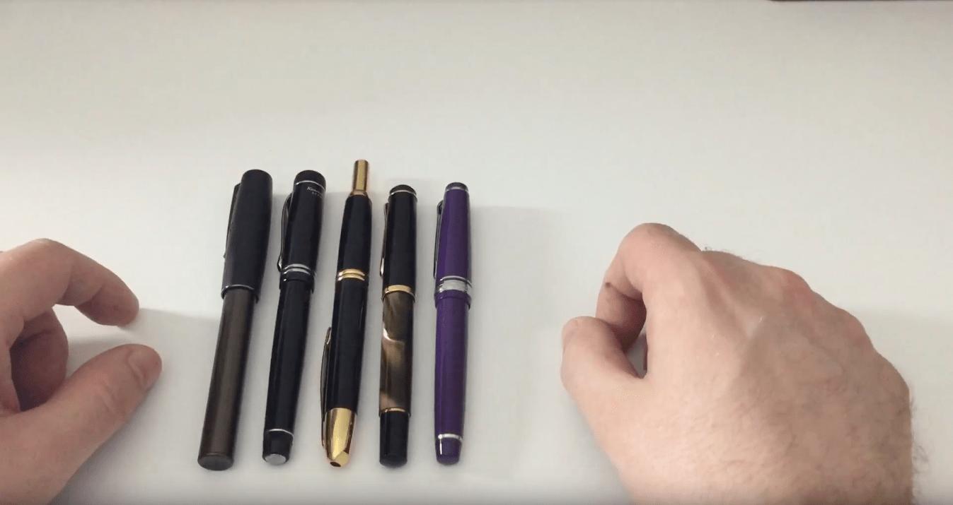 Top5 shirt pocket pens