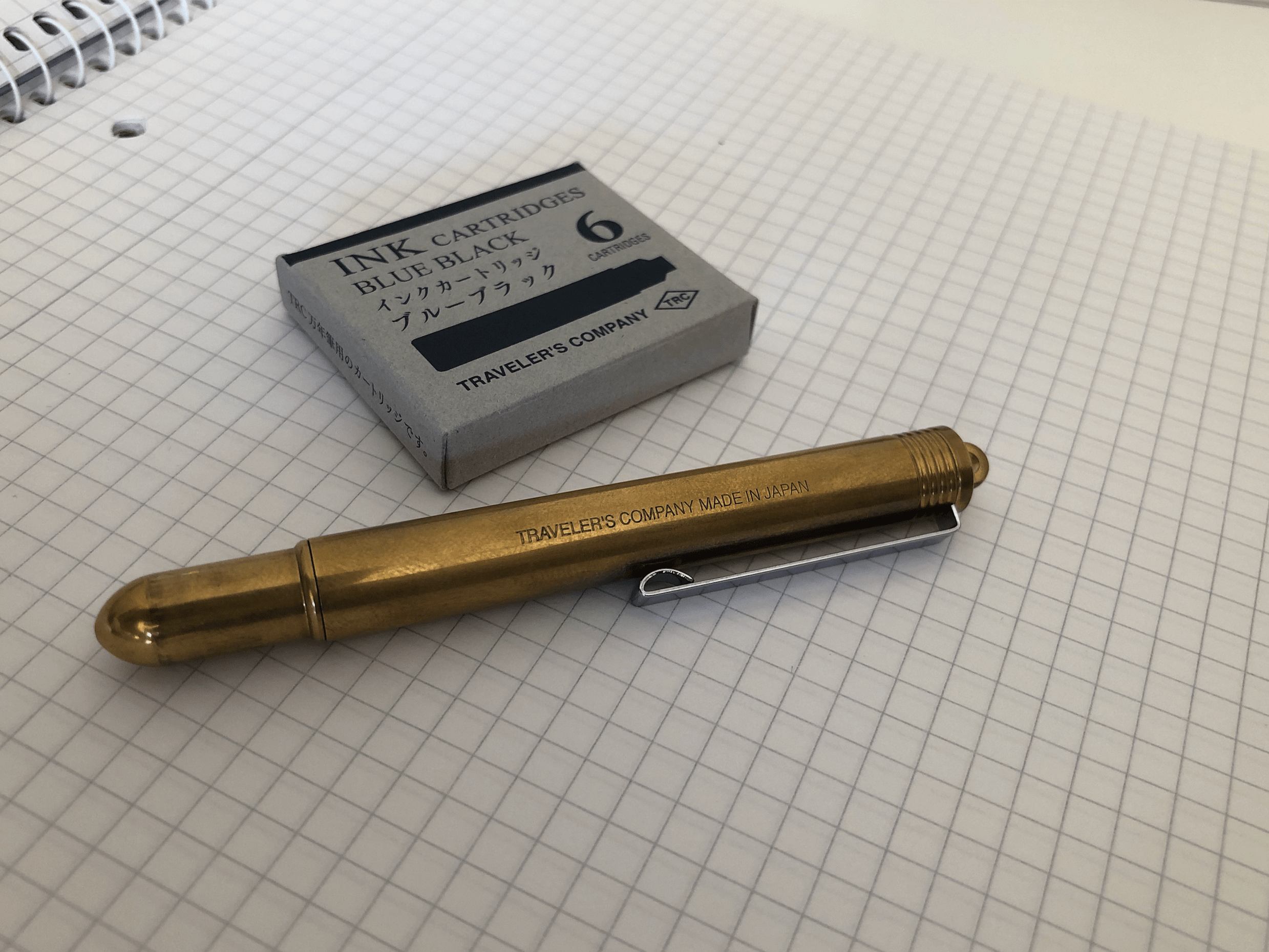 Travellers Fountain Pen