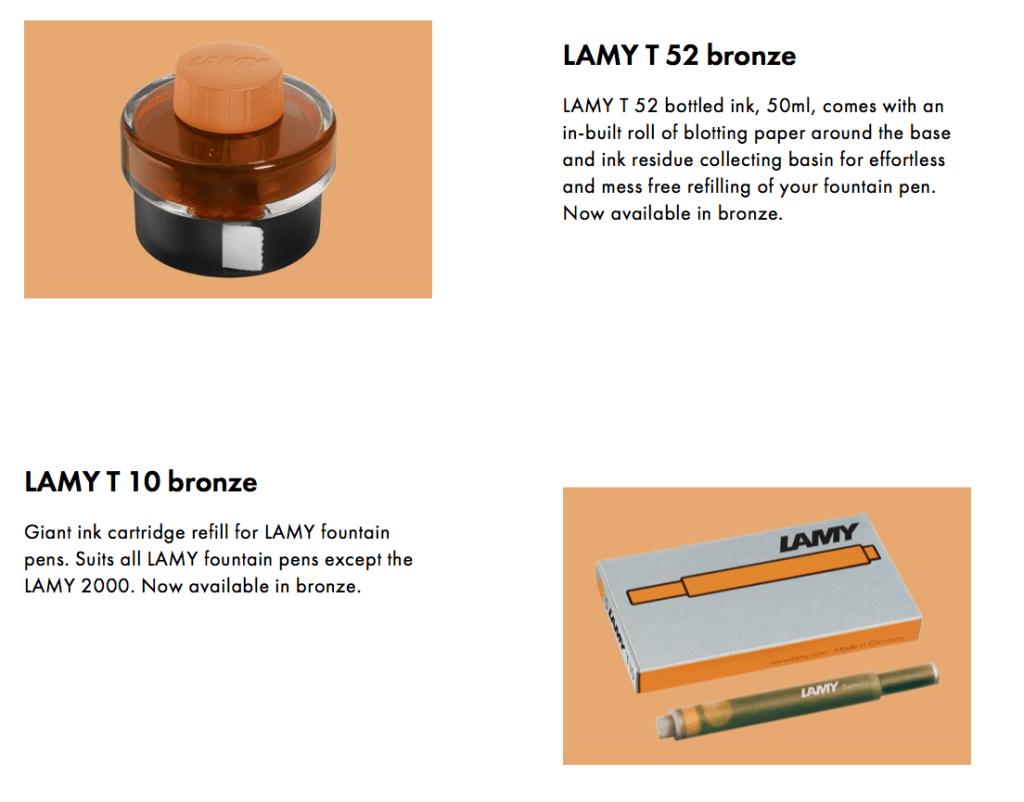 Lamy Bronze