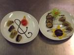 """Le due presentazioni del """"Sushi ellenico"""" a confronto"""