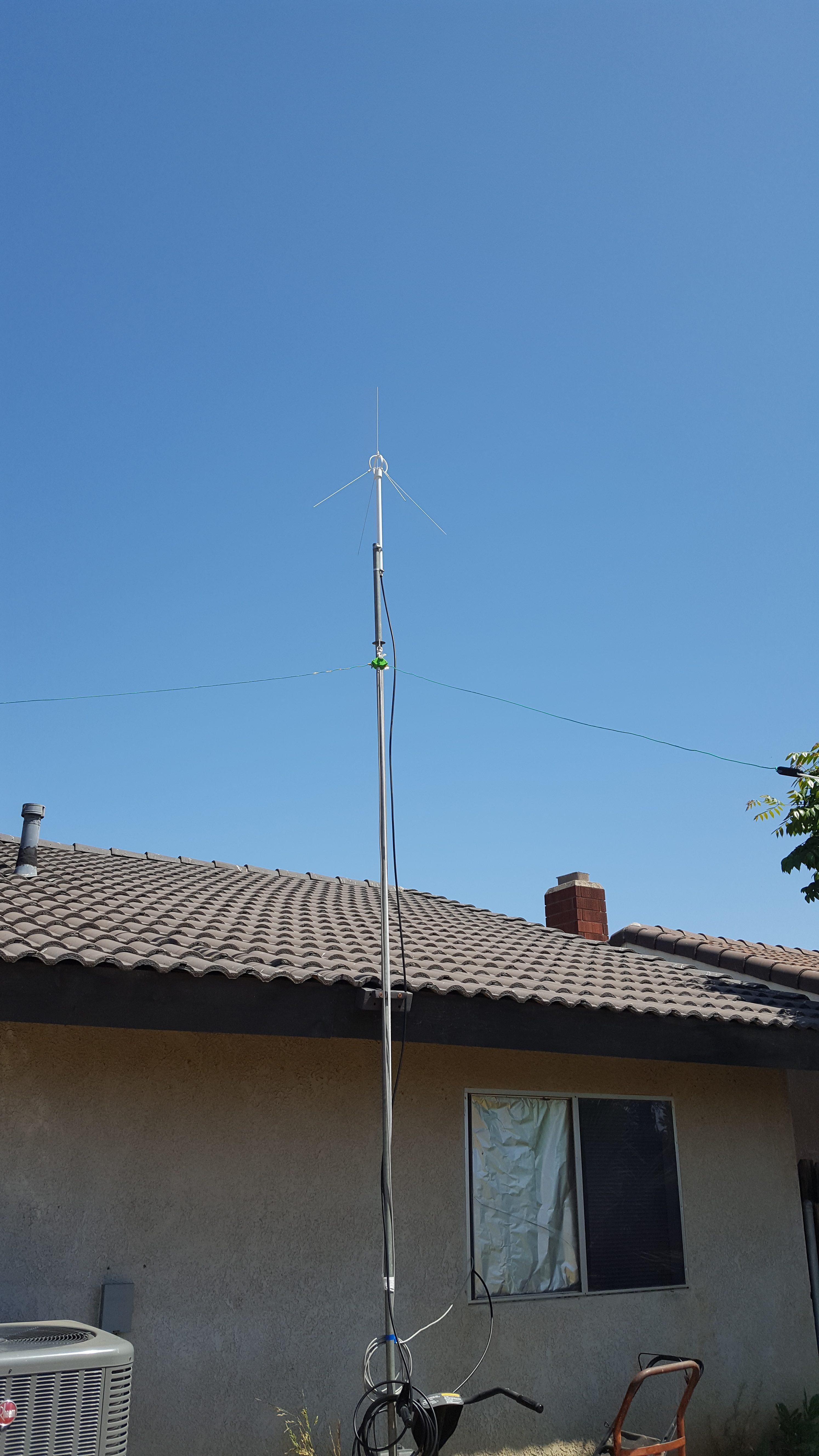 2 Meter Ground Plane Antenna - Serl Computer Research