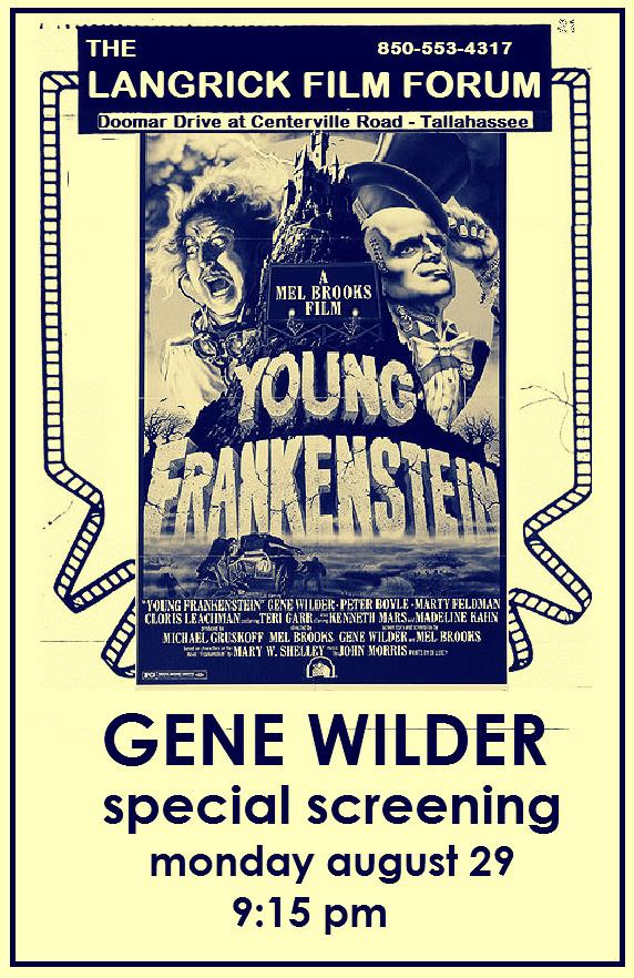 Gene Wilder – 1933-2016