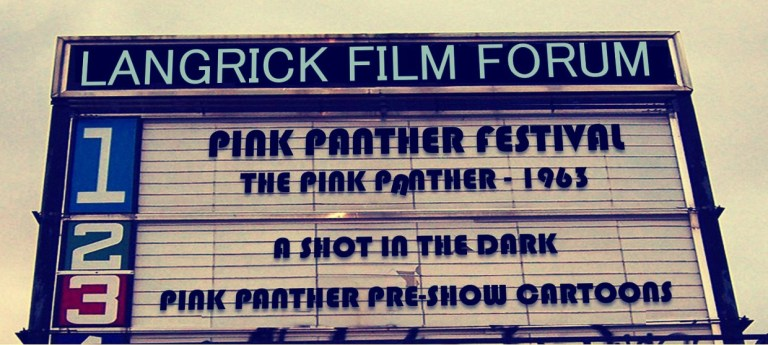 Pink Panther Double Feature – LFF Members Only