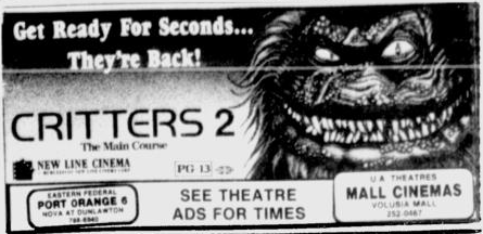 Movie Listings of the Past – May 1, 1988 – Daytona Beach Sunday News-Journal