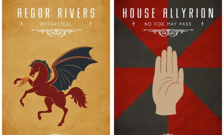Photo of გალერეა: Game of Thrones-ის სამყაროს გერბები