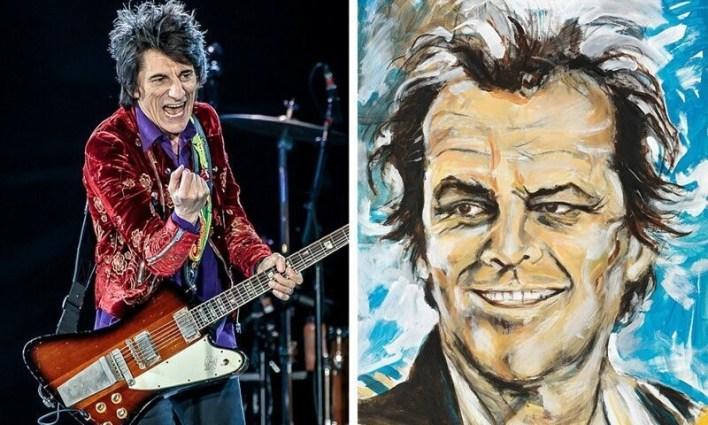 8. Ронни Вуд (The Rolling Stones)