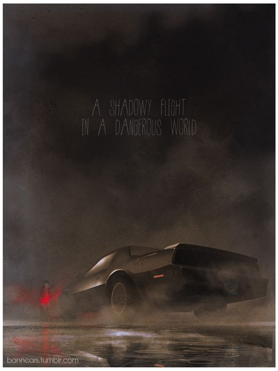 Knight Rider by Nicolas Bannister: