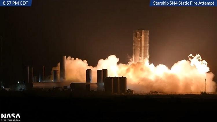 Photo of კომპანია SpaceX-ის Starship SN4 ის პროტოტიპმა ძრავის გამოცდა გაიარა