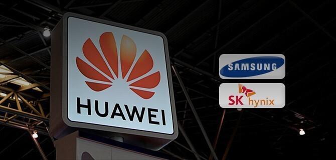 Samsung და SK Hynix შეუერთდნენ Huawei ს წინააღმდეგ სანქციებს