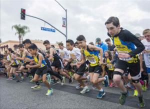 Socal RoadRunners run through redlands 2017 startingline