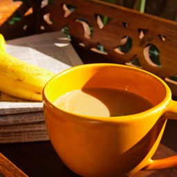 Coffee jitters? Grab a banana