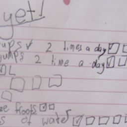 The 7-Year-Old Self-Image Diet
